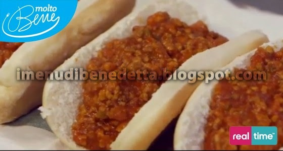 Sloppy Joe chili hot dog