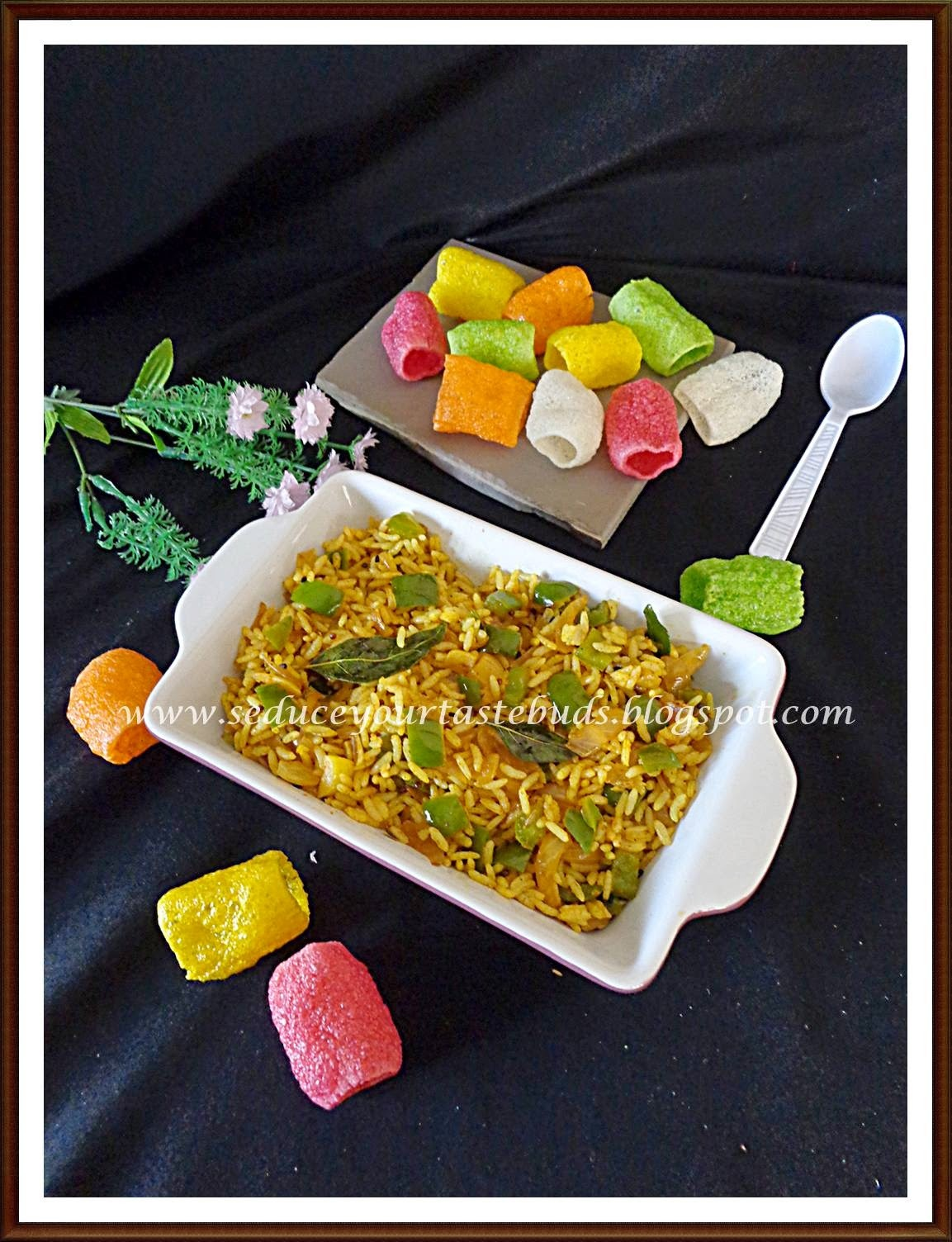 Simple Capsicum Rice