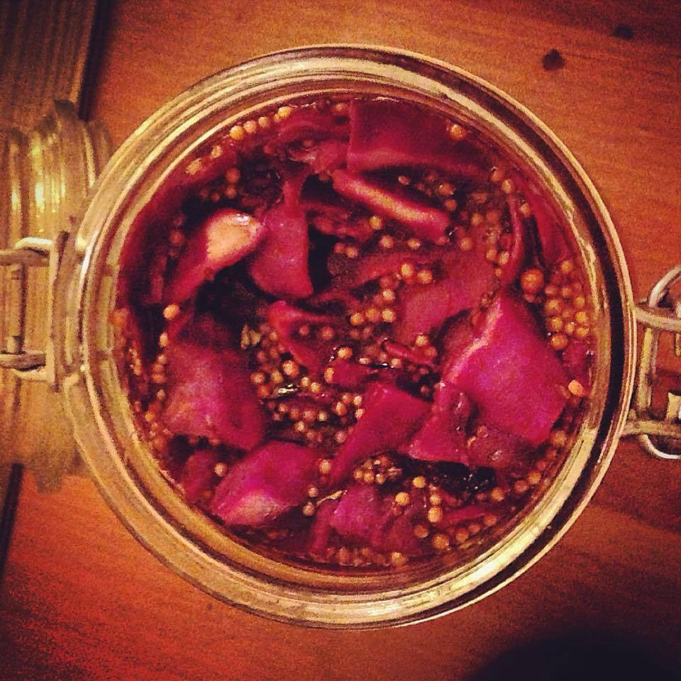 """FOR MY NAN"" PICKLED RED CABBAGE"