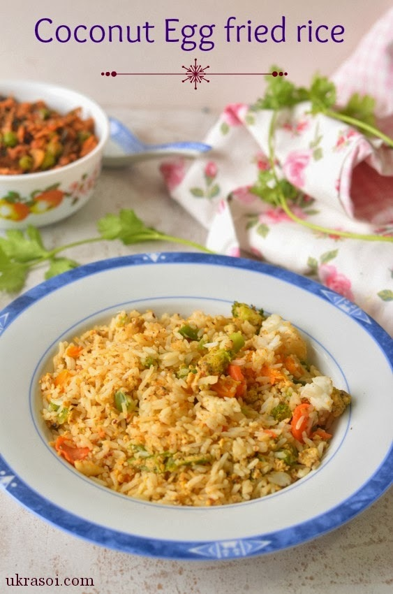 Coconut Egg fried rice