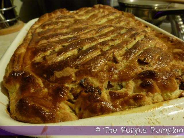 Leftover Turkey & Sweet Leek Pie [Repost]