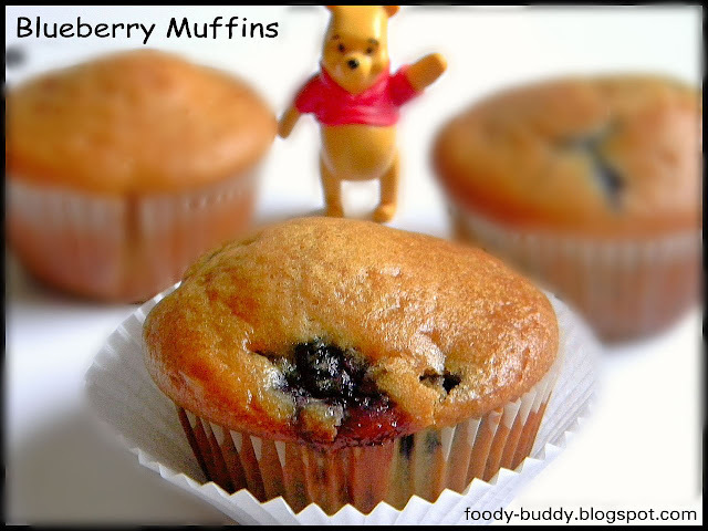 Eggless Blueberry Muffins with yogurt - Baking Recipes