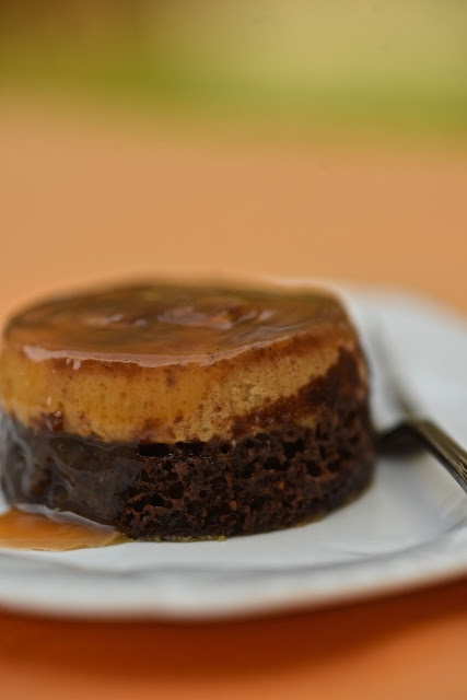 Cake impossible - choco flan