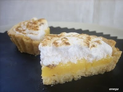 Merengue de naranja y arroz