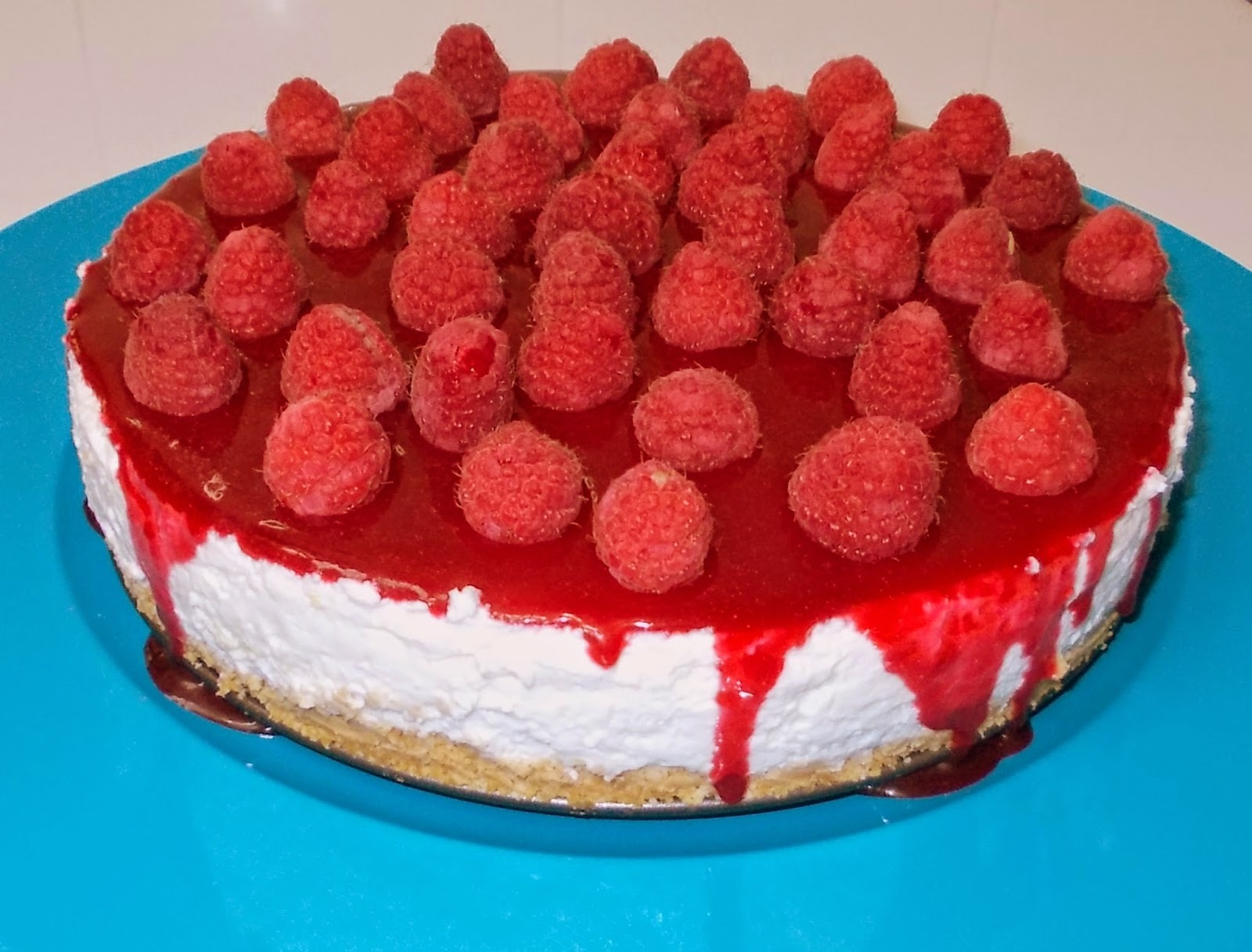 Cheesecake com Coulis de Framboesa - WBD 2015
