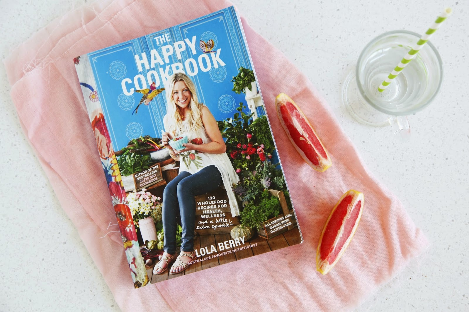 A Cookbook Review: The Happy Cookbook by Lola Berry