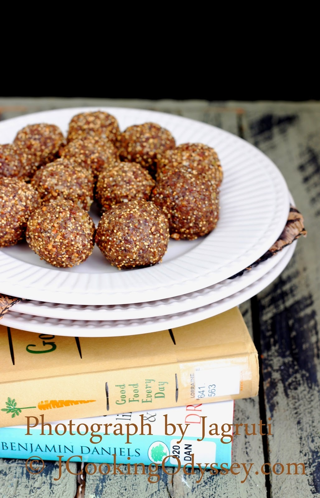 Mix seeds N Pear Ladoo / Truffles - Eat Nutritious, Feel Fabulous 20th March !
