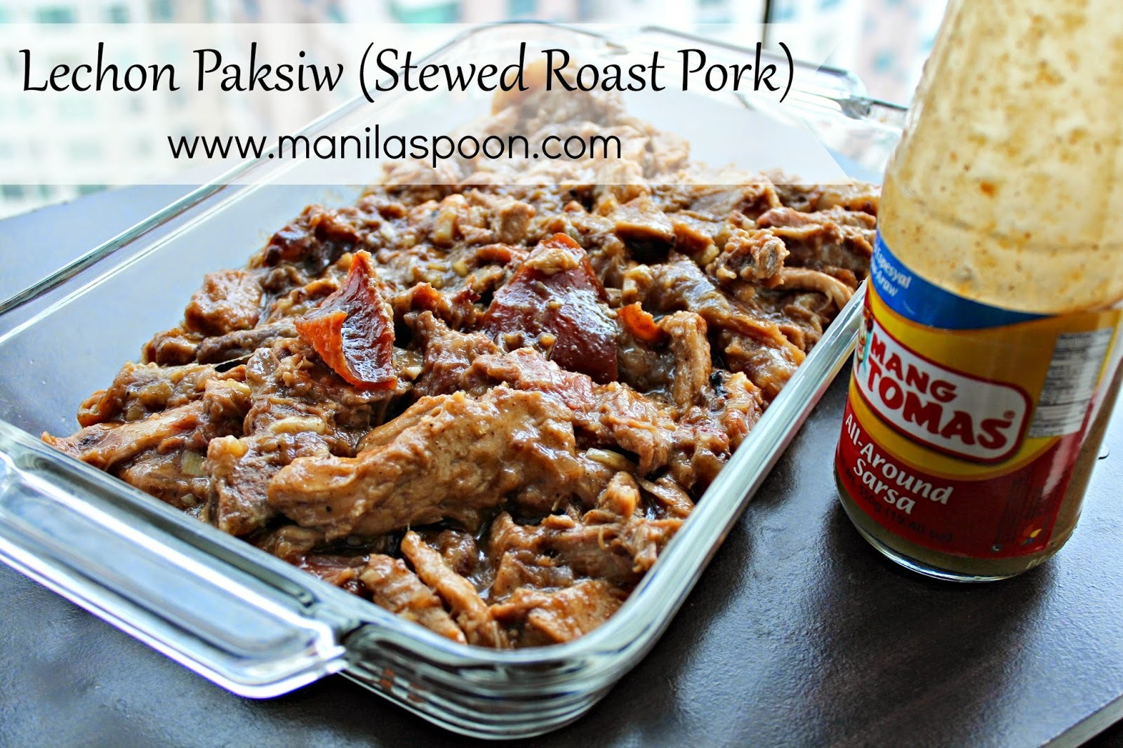 Lechon Paksiw (Stewed Roast Pork)