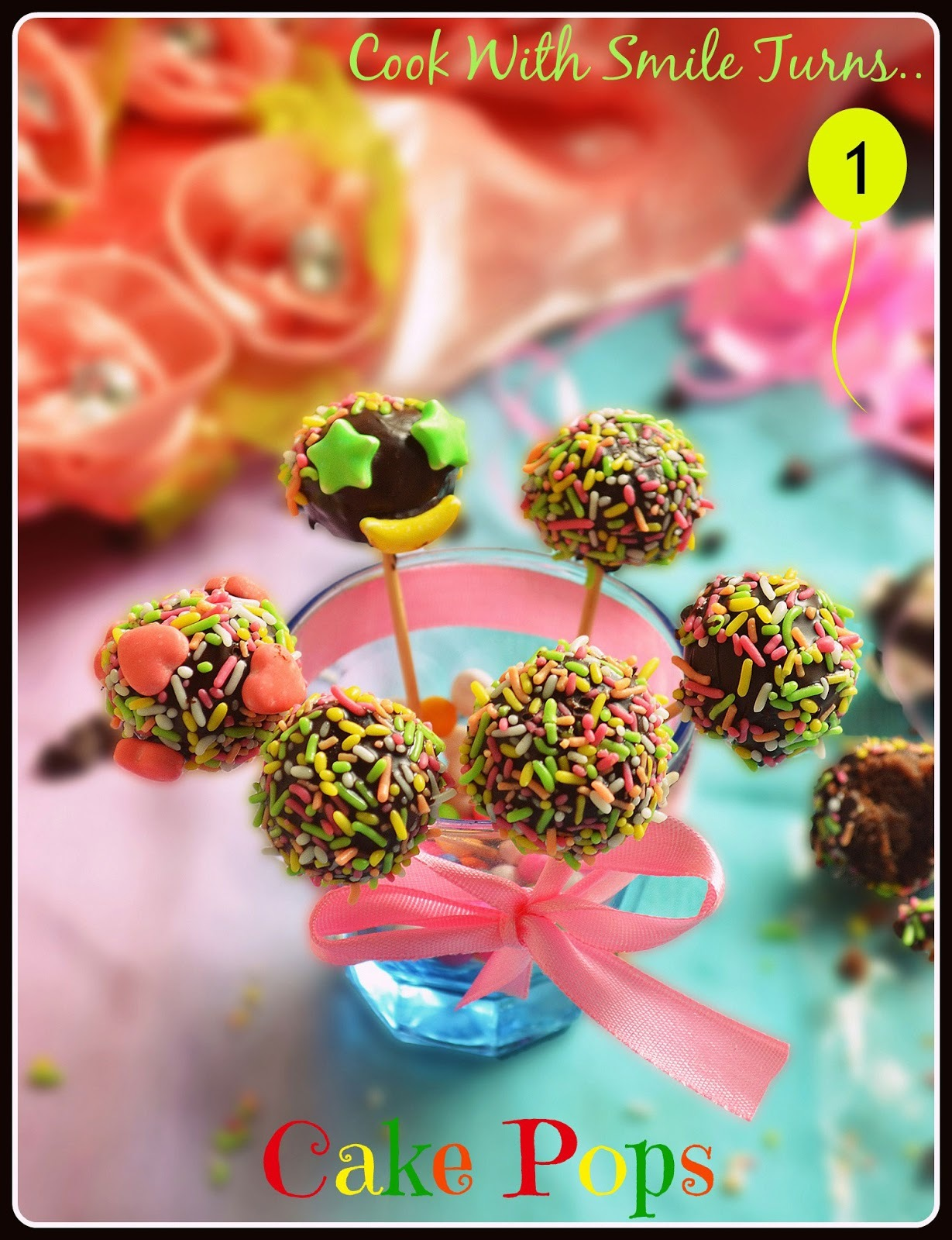 CAKE POPS / EASY CAKE POPS RECIPE - EASY KIDS PARTY FOOD