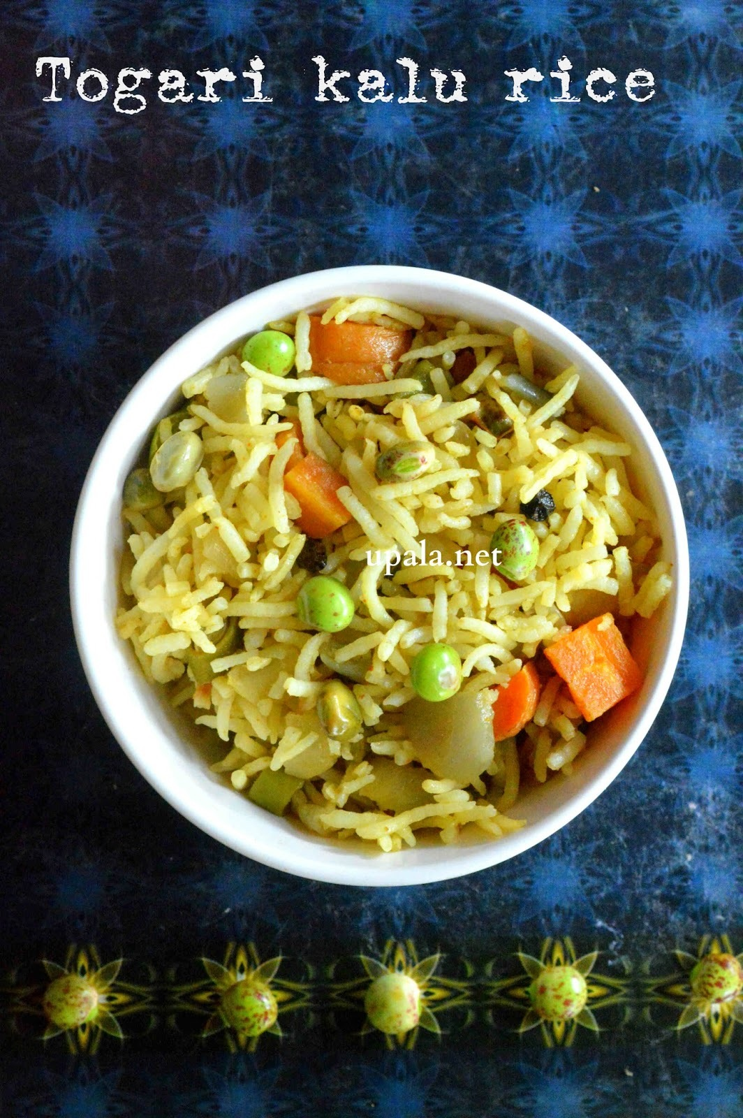 Togari kaalu Vegetable Rice/Tuvar lilva Vegetable rice