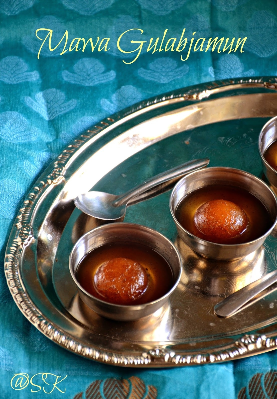 Mawa Gulab Jamun - Gulab Jamun using Khoya - My 500 th post - Step by step