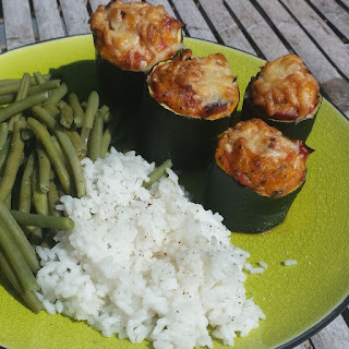 Courgettes farcies originales