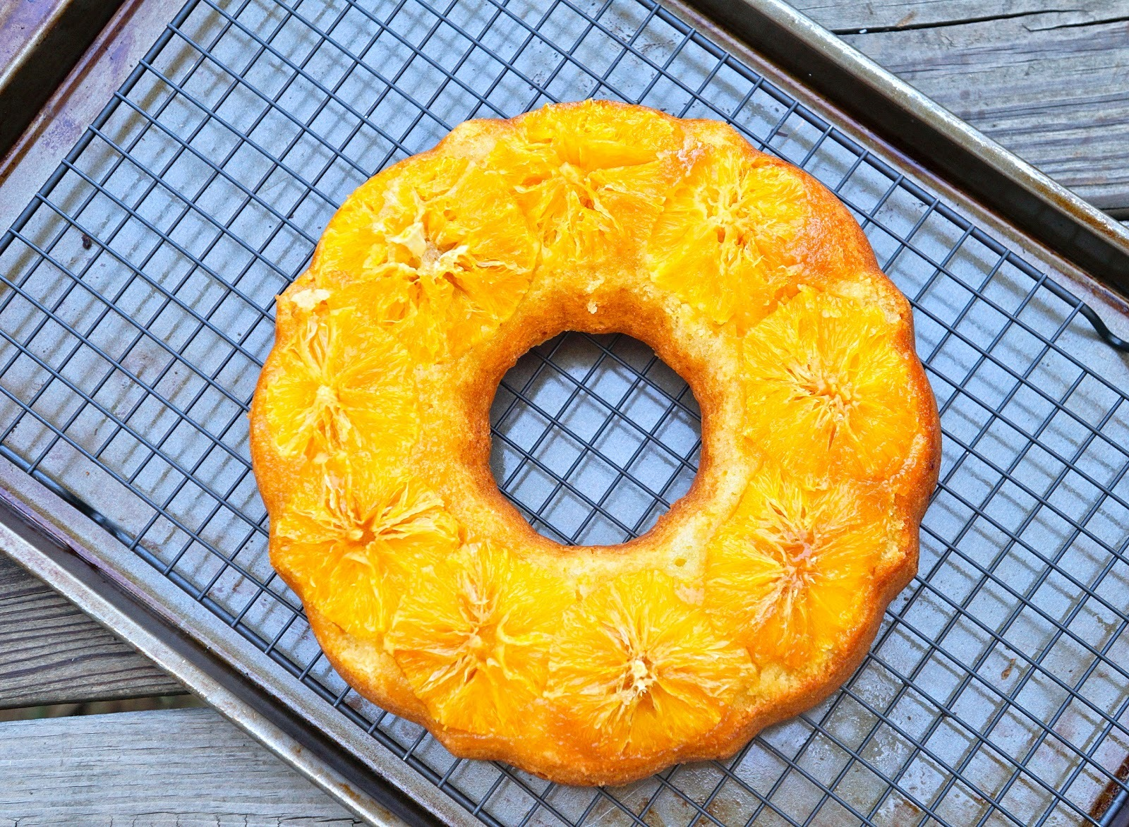 citrus orange madeira ring