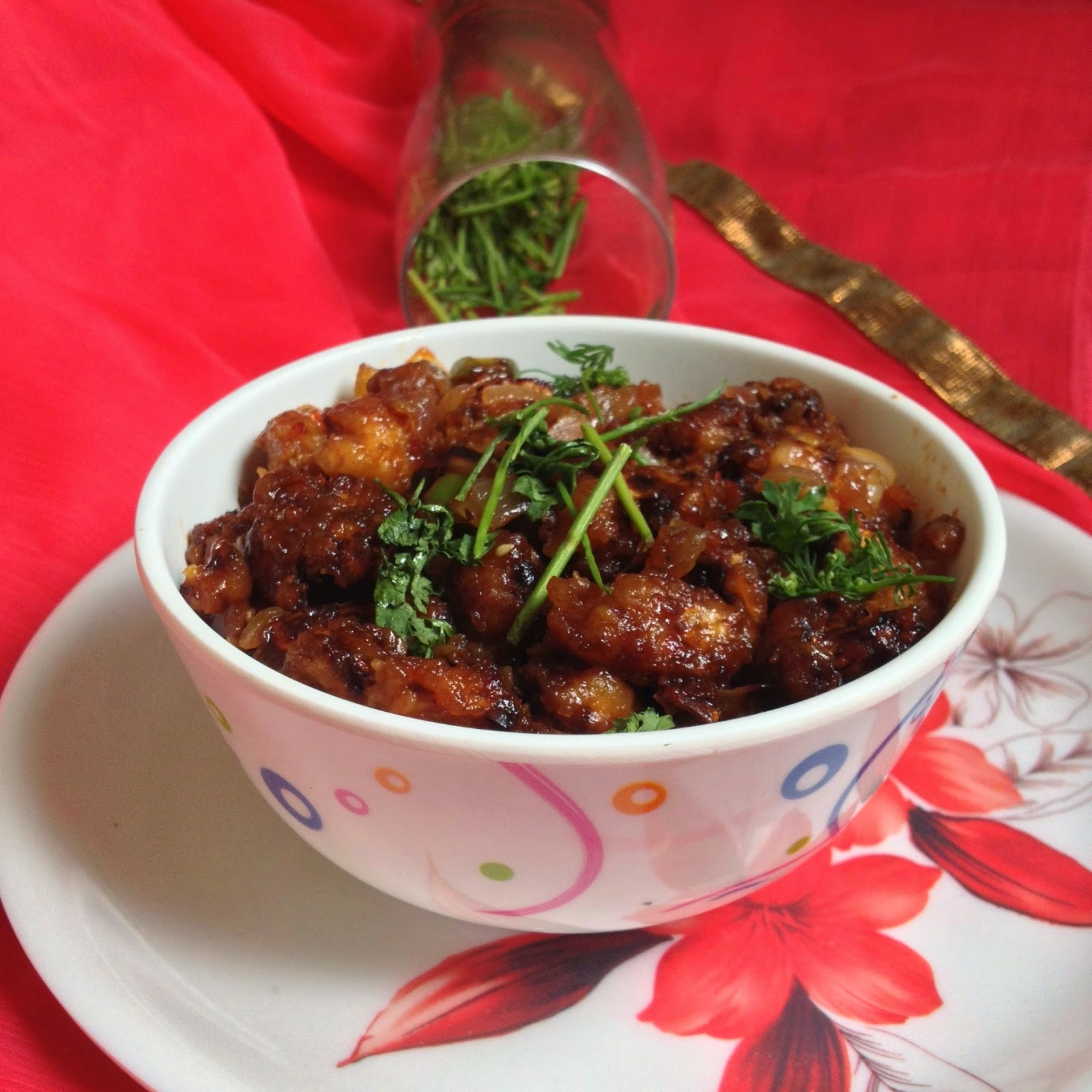 Szechuan Cauliflower | Indo-Chinese Recipes | Appetizers