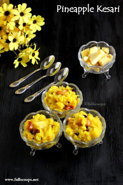 Pineapple Kesari | Kesari Recipes