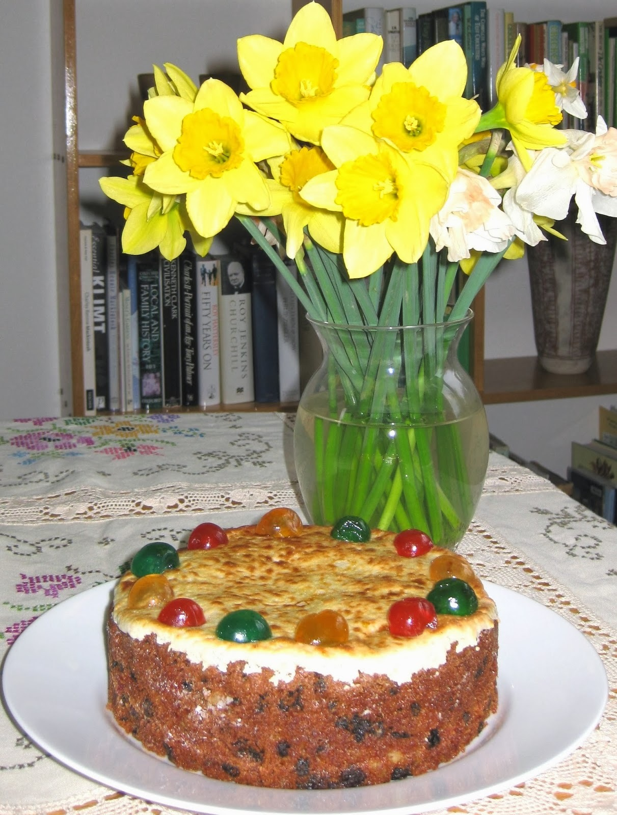 Simnel Cake for Mothering Sunday