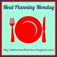 Meal Planning Monday 2014 - Week 13