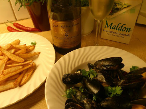 Moules-frites ♫♫♥