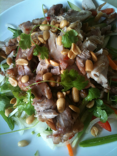 Kinda Vietnamese Chicken Salad for Grown Ups