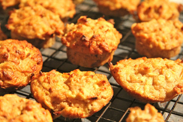 Sugar Free Double Apple Muffins for babies and toddlers; oh no, not another muffin recipe!