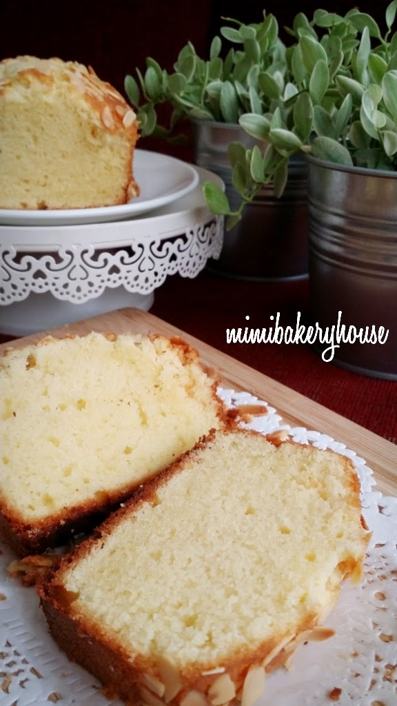Almond Butter Cake [08 Apr 2015]