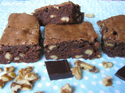 American walnut brownies - my way...