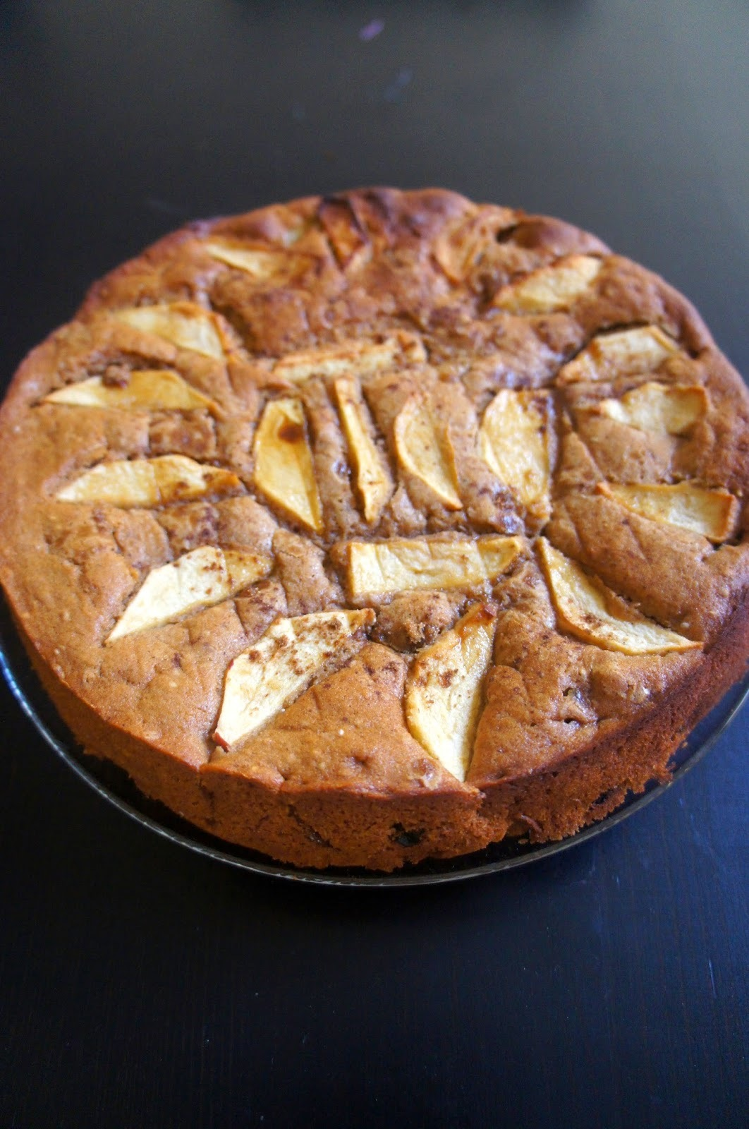 Apple-orange-ginger cider cake