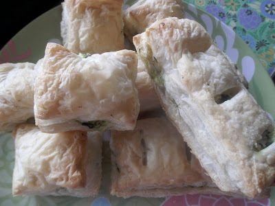 Feta og spinat pakker / Feta and Spinach Parcels