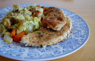 Turkey Escalopes...with Marmite love!