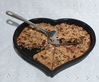 flapjack recipe nuts seeds dried fruit no butter no sugar