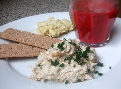Smoked mackerel rillettes