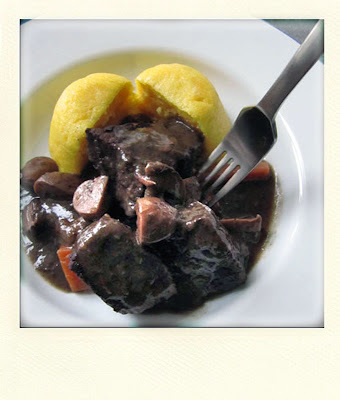 DAUBE... OR MY BOEUF BOURGUIGNON