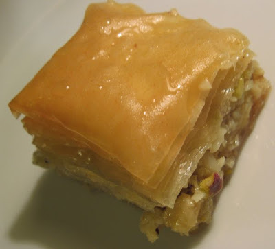 B is for... Baklava