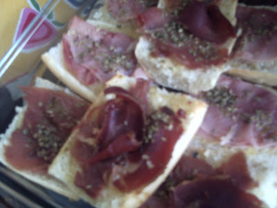 MINI PIZZAS (SOBRAS DE PAN)