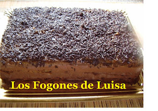 TARTA MUSSSS DE CHOCOLATE