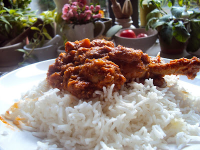 Chicken Tagine with Persian Baked Rice