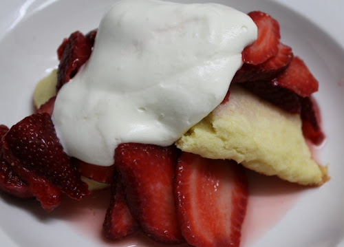 Nice Strawberry Shortcake