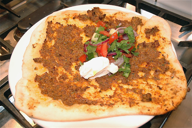 Lahmacun - Spicy Turkish Lamb Flatbreads