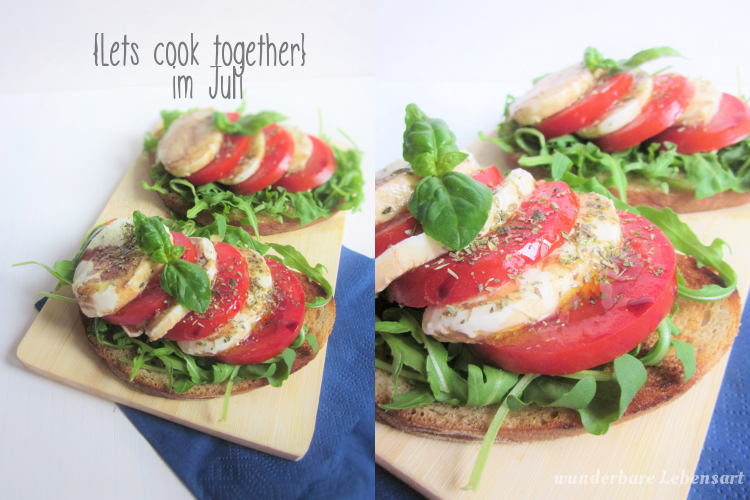 {Lets cook together} Italienisches Brot