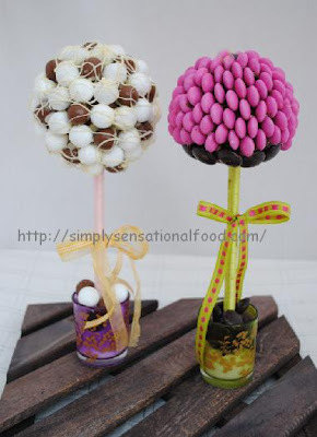 how to stick sweets on a sweet tree