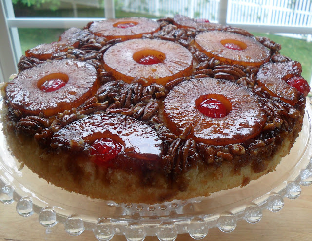 Pineapple Upside Down Cake, Etc...Father's Day Weekend Menu