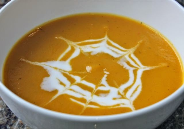 CARROT SOUP - THAI STYLE