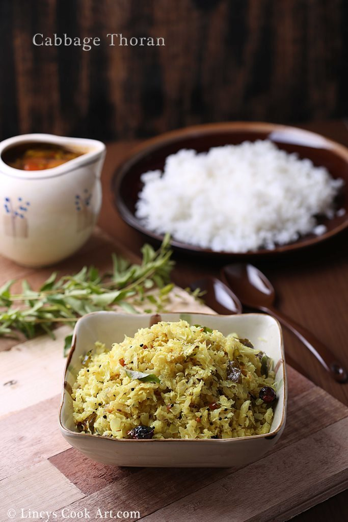 Cabbage Thoran| Cabbage Poriyal