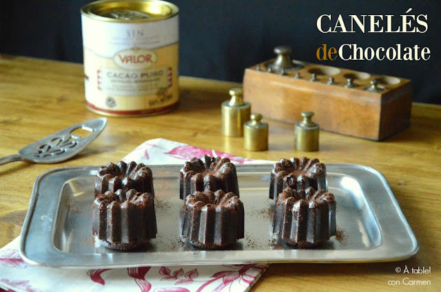 Canelés de Chocolate