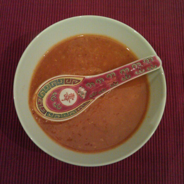 Spicy linsesuppe