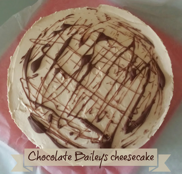 Recipe - Chocolate Baileys cheesecake (with a hidden surprise!)
