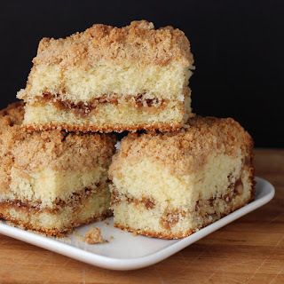 Walnut Streusel Coffee Cake for a Virtual Baby Shower