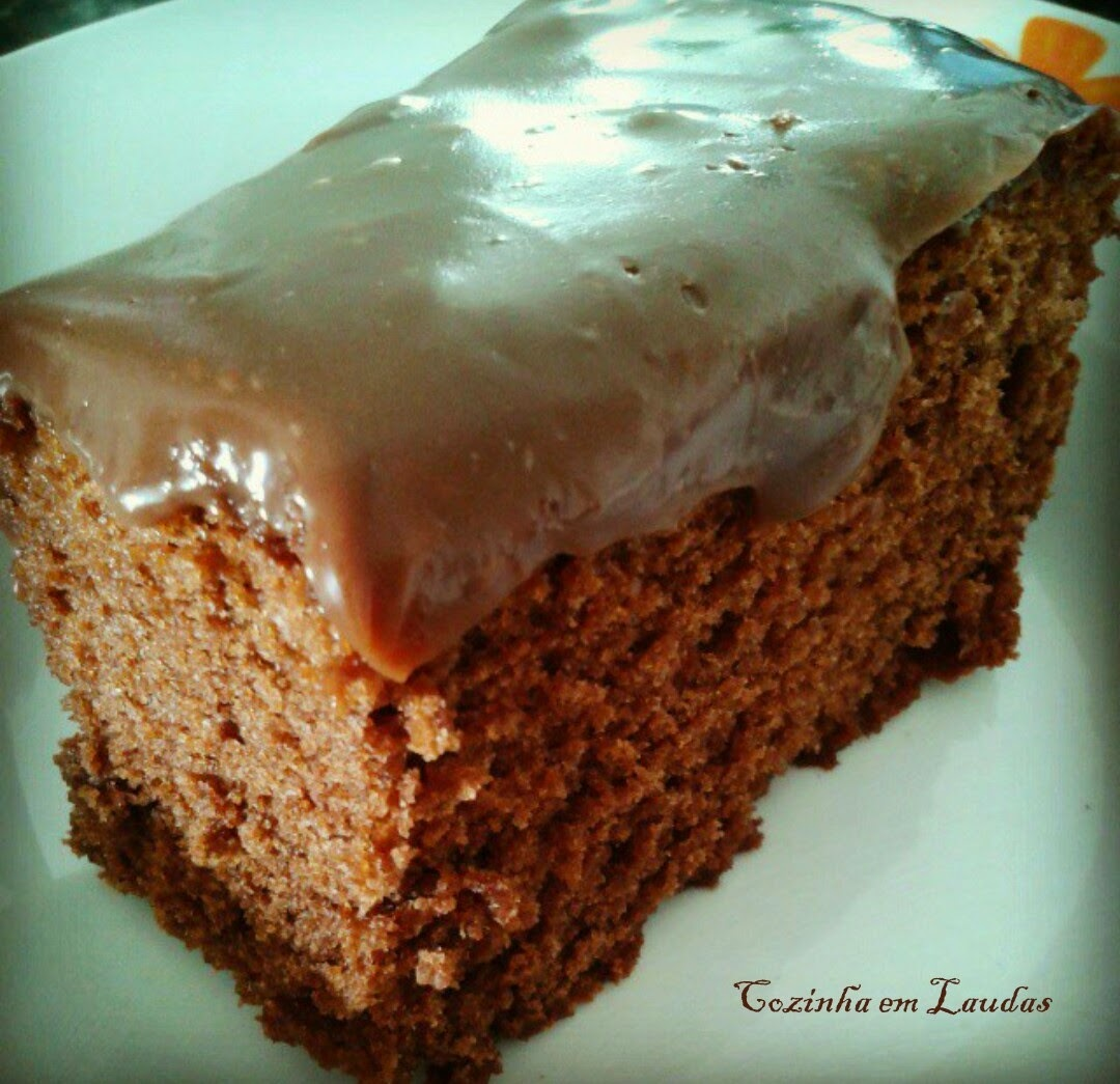 Bolo de chocolate de vó [Chocolate cake grandmather]