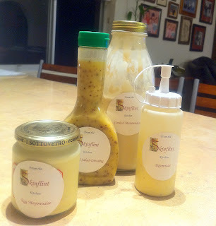 Delicious Mayonnaise, Dijonnaise and Salad Dressings