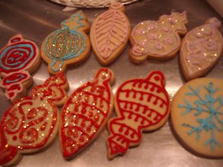 Piping skills and cookie decorating class